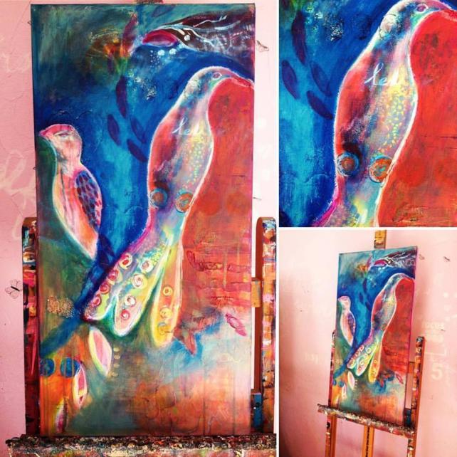 schilderij van alice